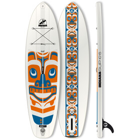 Indiana SUP 10'6 Allround LTD - Planche - orange/bleu